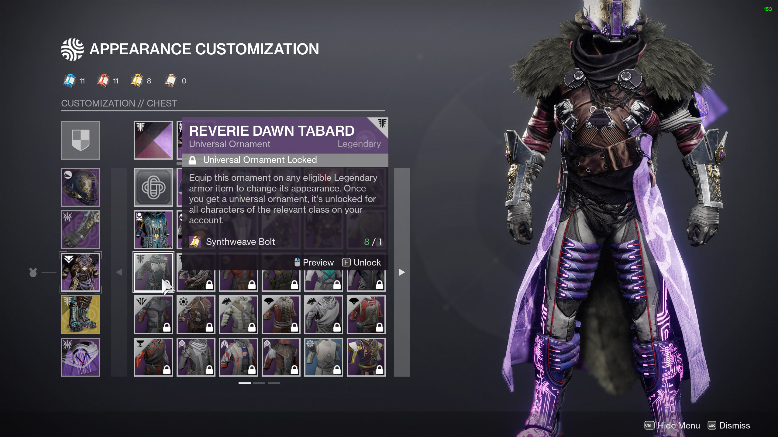 destiny 2 tying it all together appearance customization