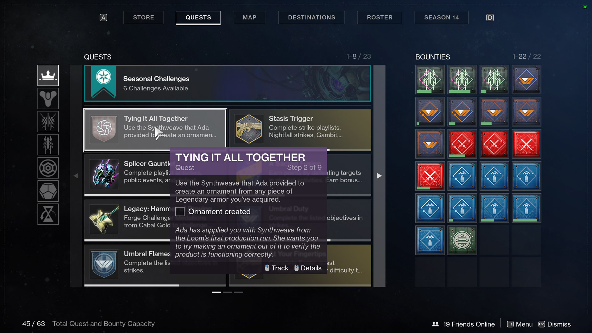destiny 2 tying it all together create an ornament