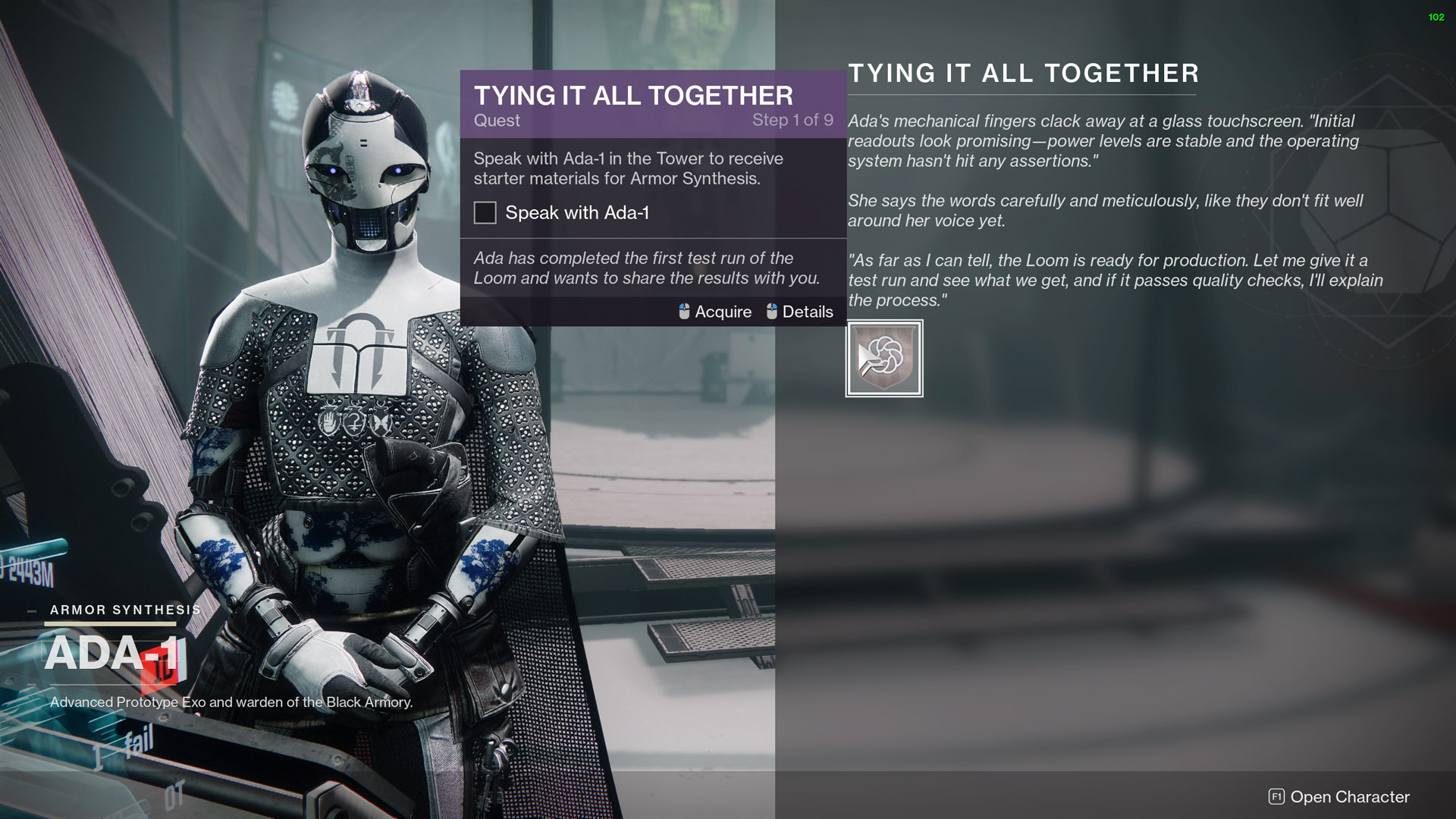 destiny 2 tying it all together quest
