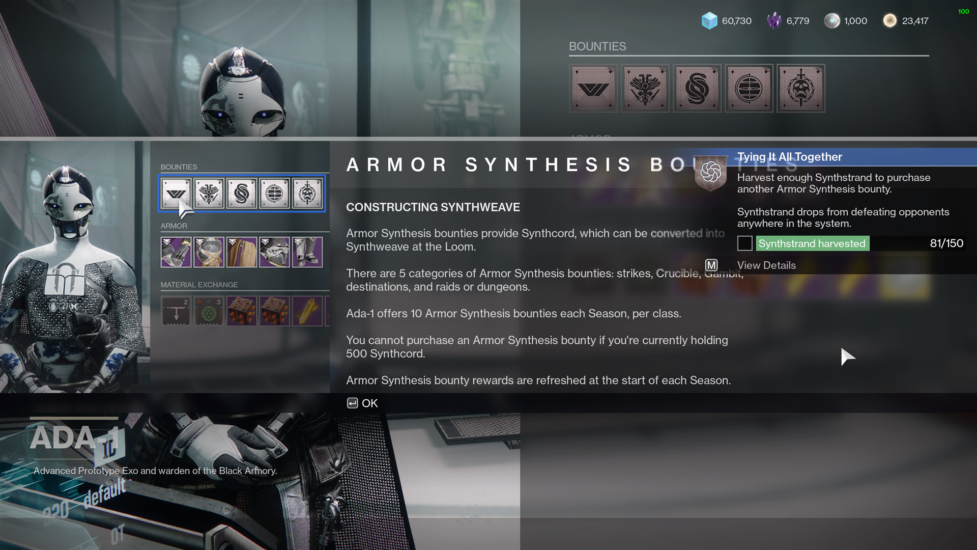 destiny 2 tying it all together get synthstrand