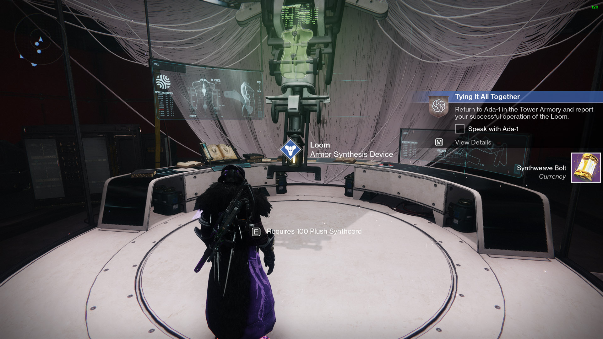destiny 2 tying it all together loom