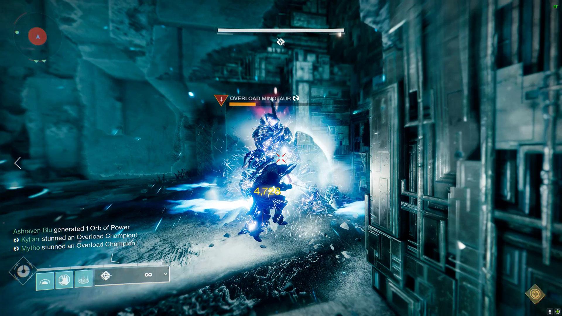 destiny 2 vault of glass gatekeeper overload minotaur