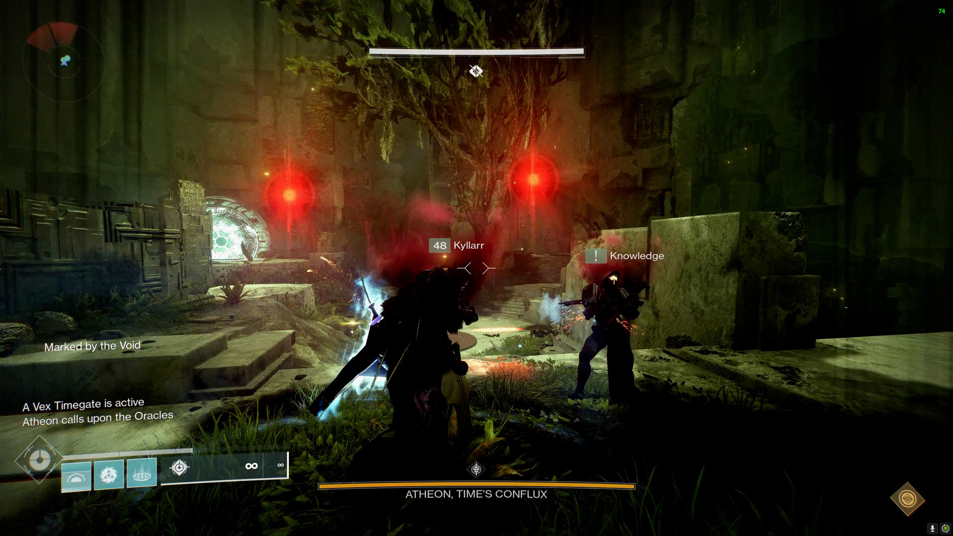 destiny 2 vault of glass atheon teleported oracles