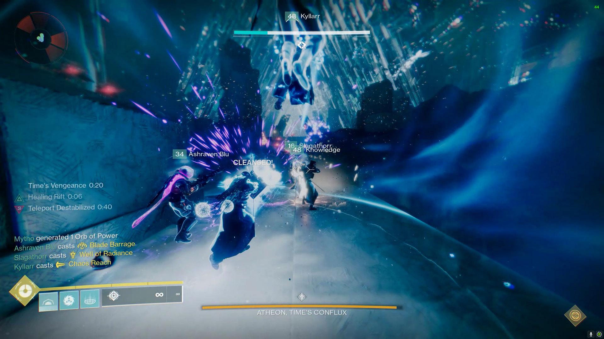 destiny 2 vault of glass atheon relic cleanse