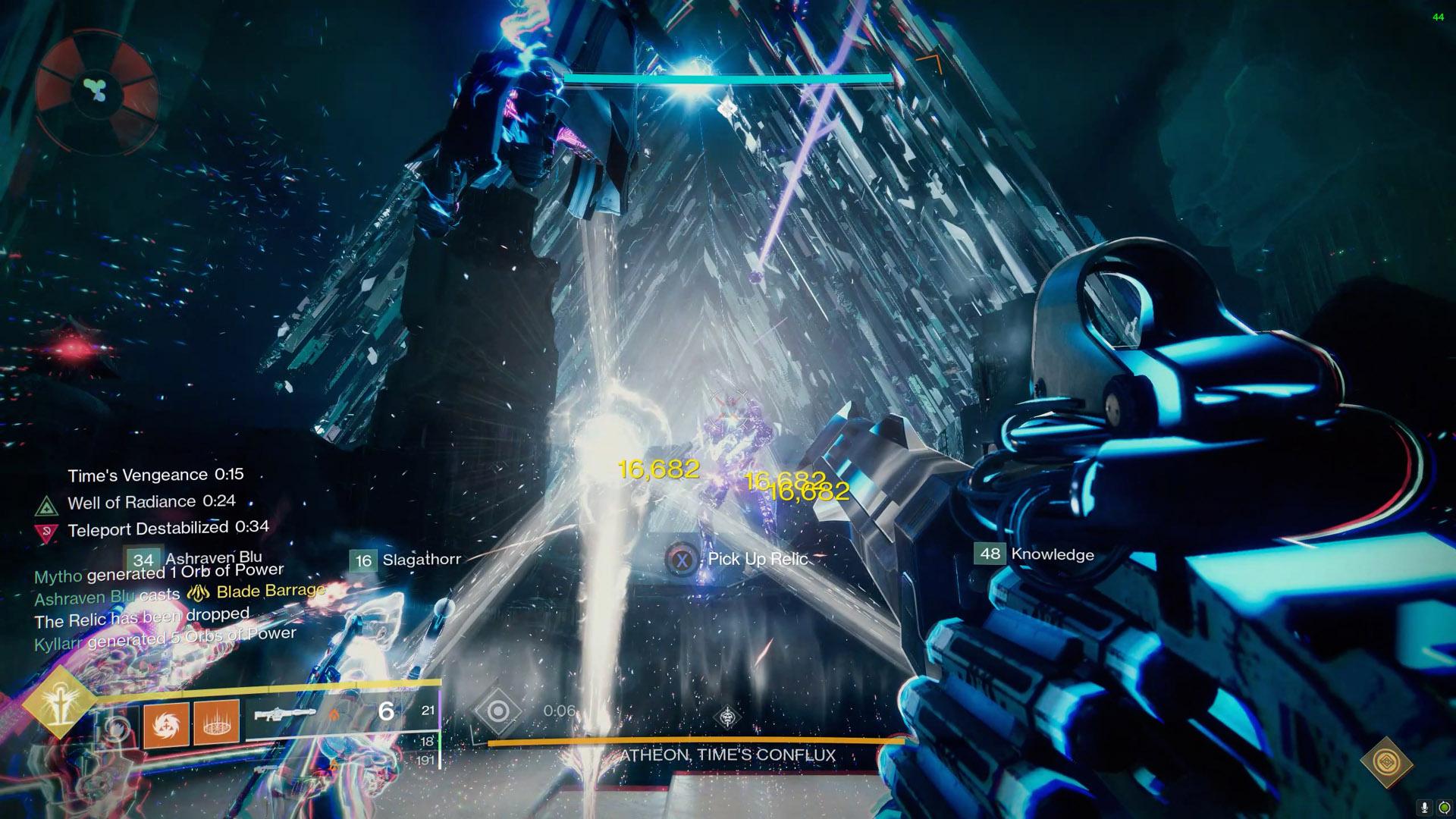 destiny 2 vault of glass atheon time's vengeance