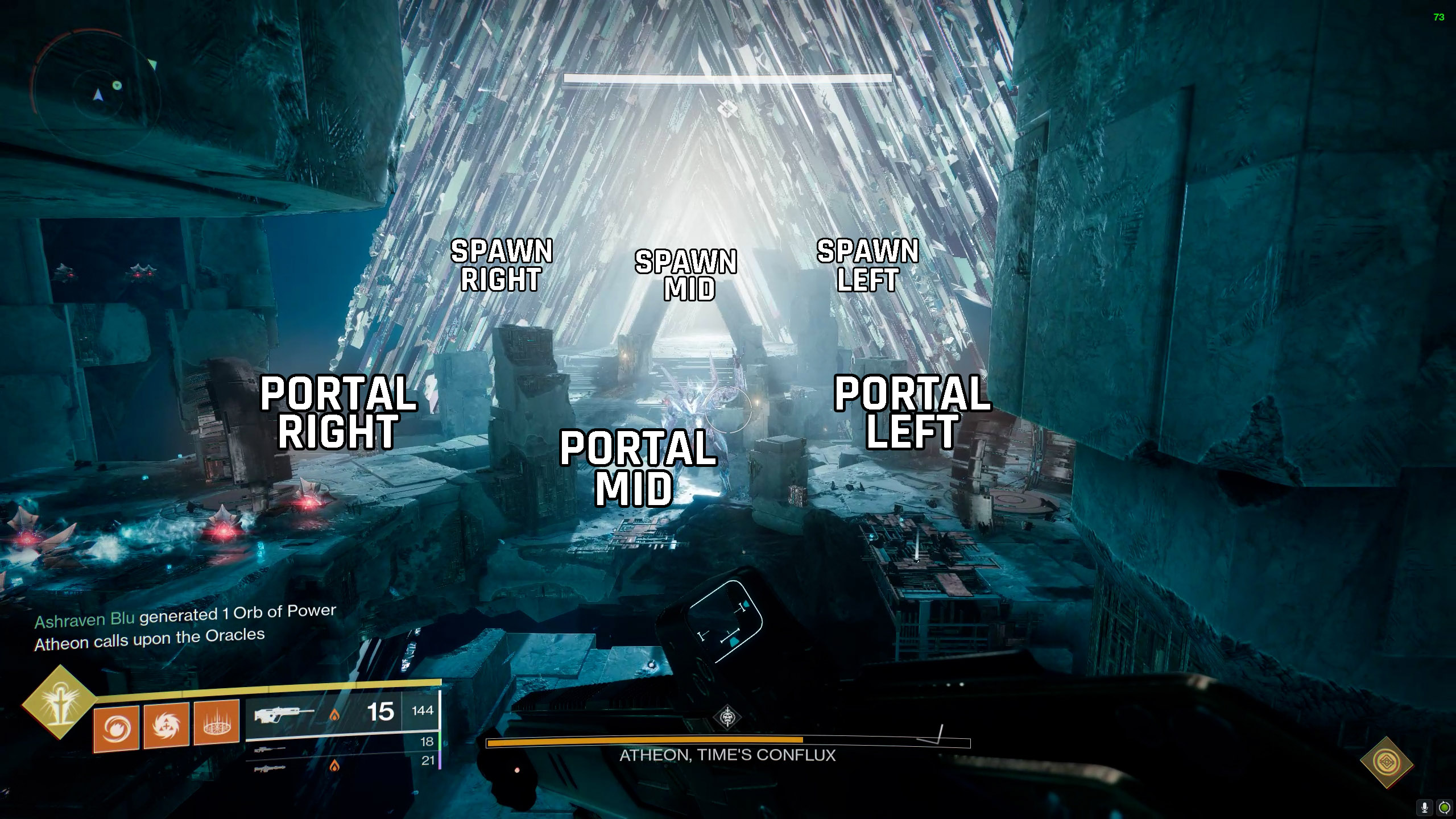 destiny 2 vault of glass oracle callouts