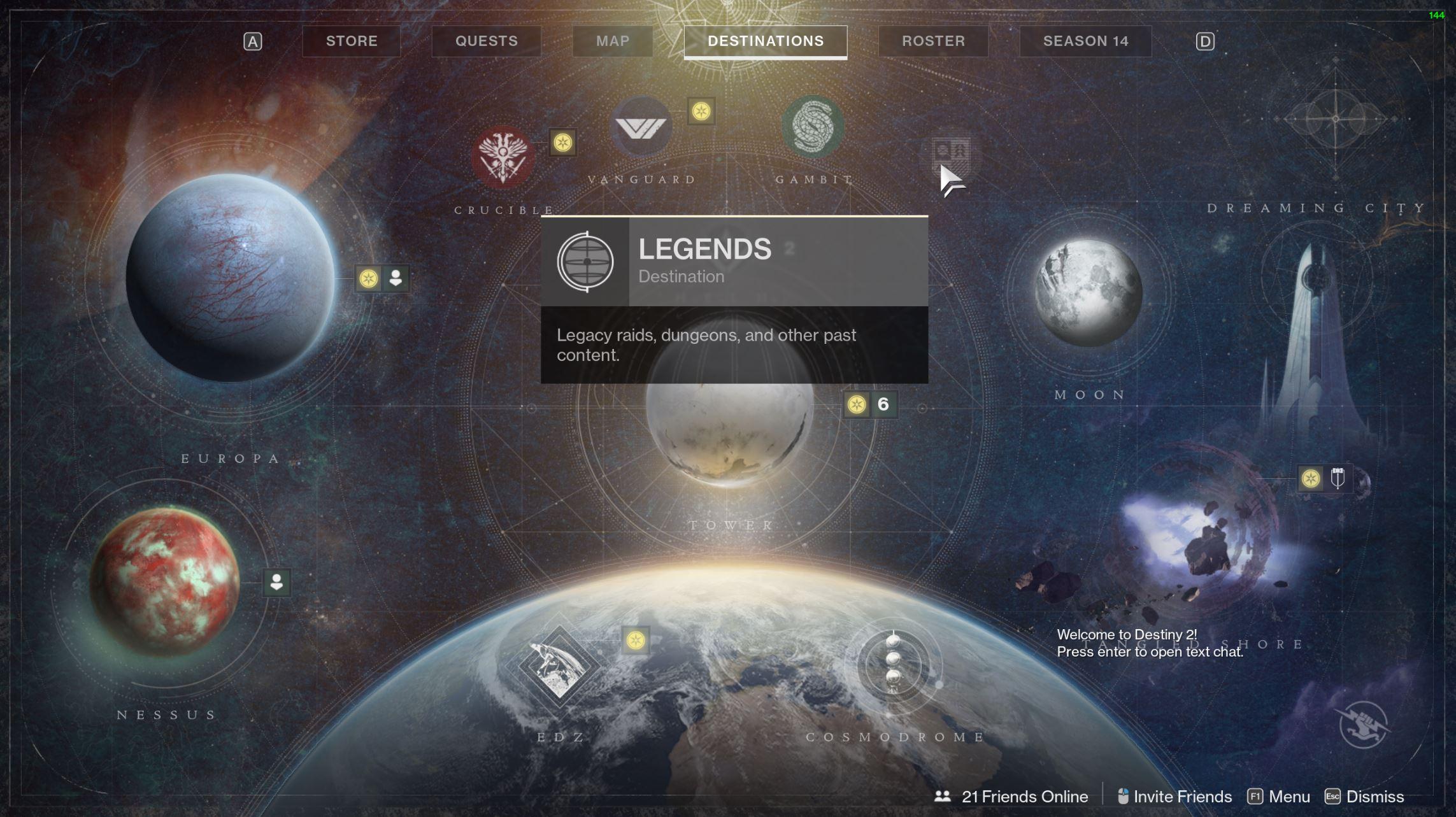 destiny 2 start launch vault of glass
