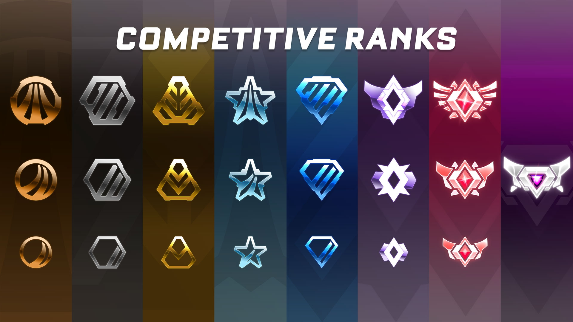 All competitive Ranks in Rocket League have their own distinct icon.