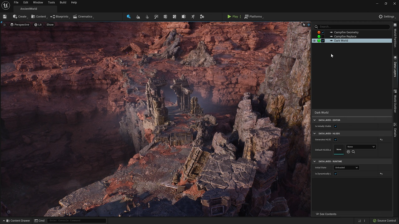 Tools like Nanite and Lumen will be available for study and hands-on testing in Unreal Engine 5's early access rollout.