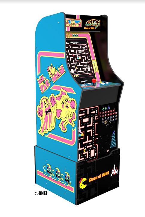 Ms. PAC-MAN/Galaga Class of '81 Arcade Machine
