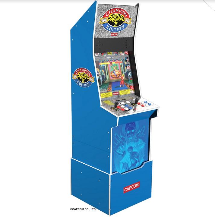 Arcade1Up Street Fighter 2 Big Blue Arcade Machine