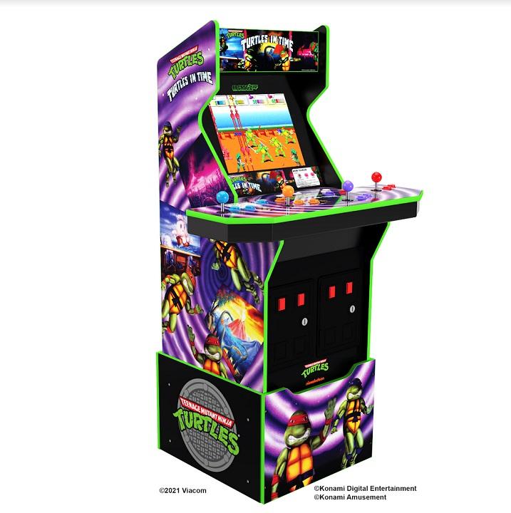 Arcade1Up Teenage Mutant Ninja Turtles: Turtles in Time Arcade Machine