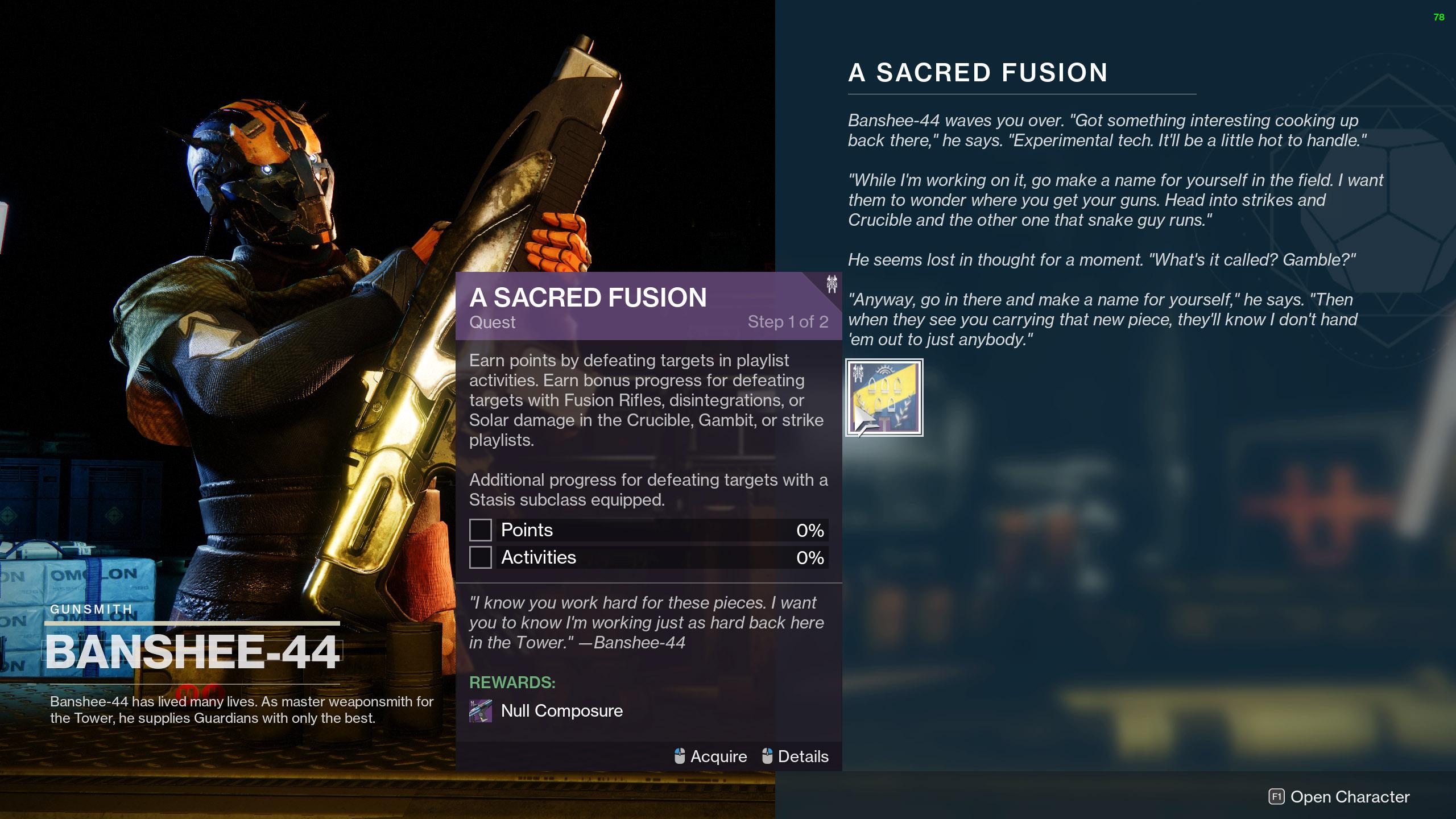 destiny 2 a sacred fusion