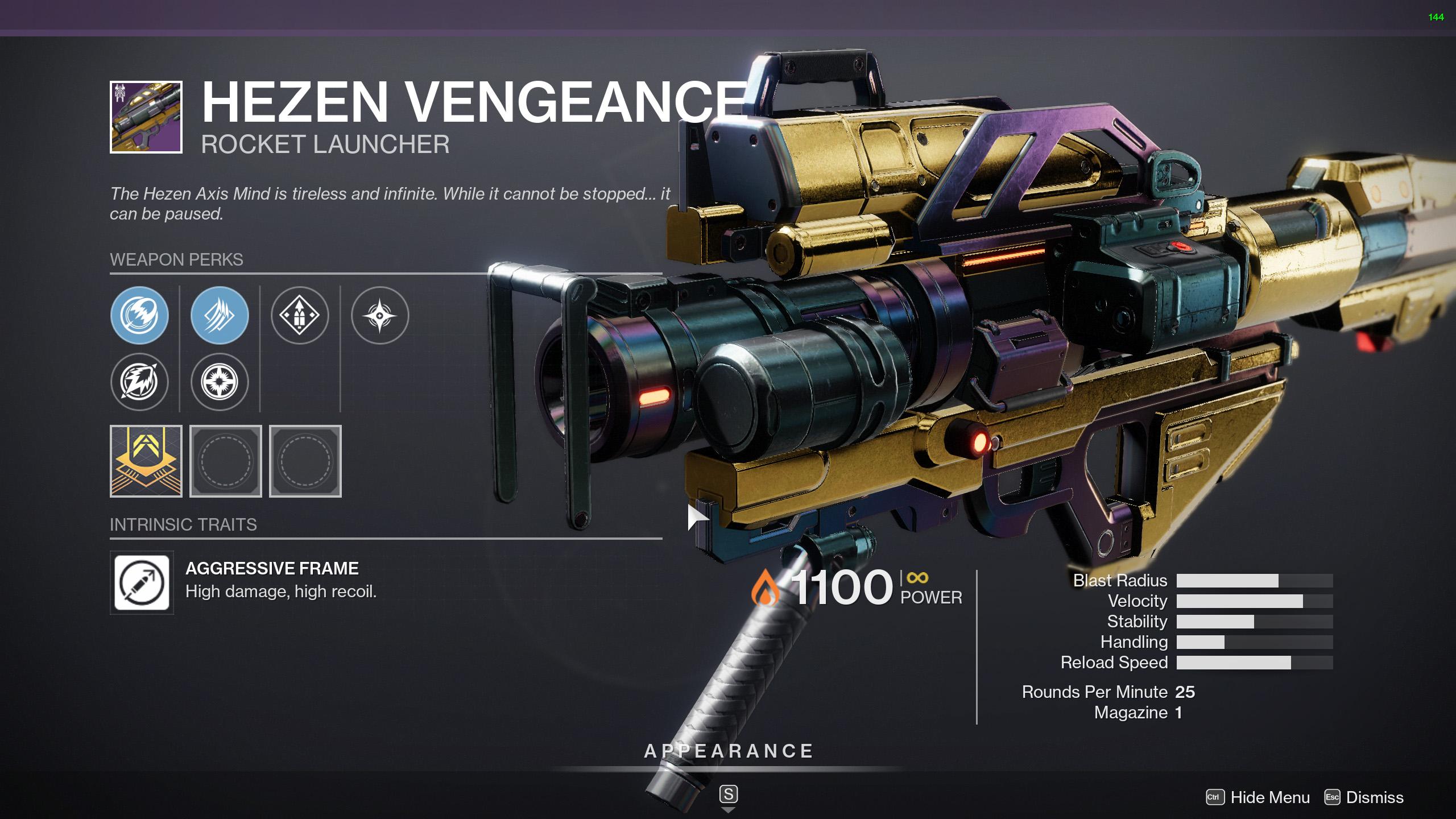destiny 2 hezen vengeance