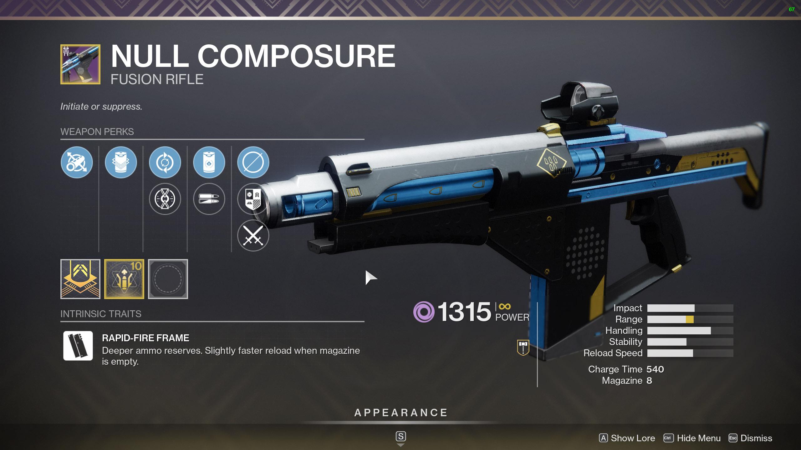 destiny 2 null composure
