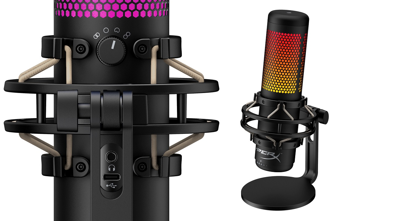HyperX's Quadcast S RGB standalone microphone has been among the many success stories that likely drew HP to acquiring the brand to the tune of $425 million.