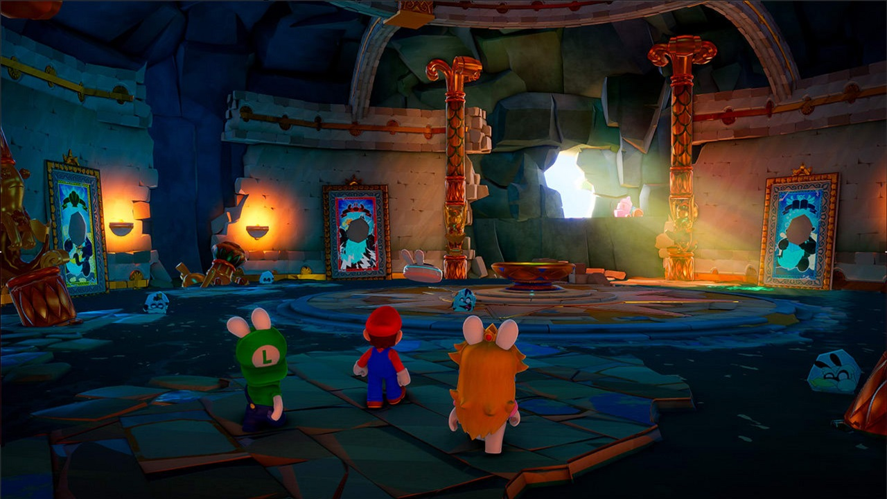 It would appear that Mario and Mushroom Kingdom denizens will once again be getting together with Rabbids styled after them in a new adventure.