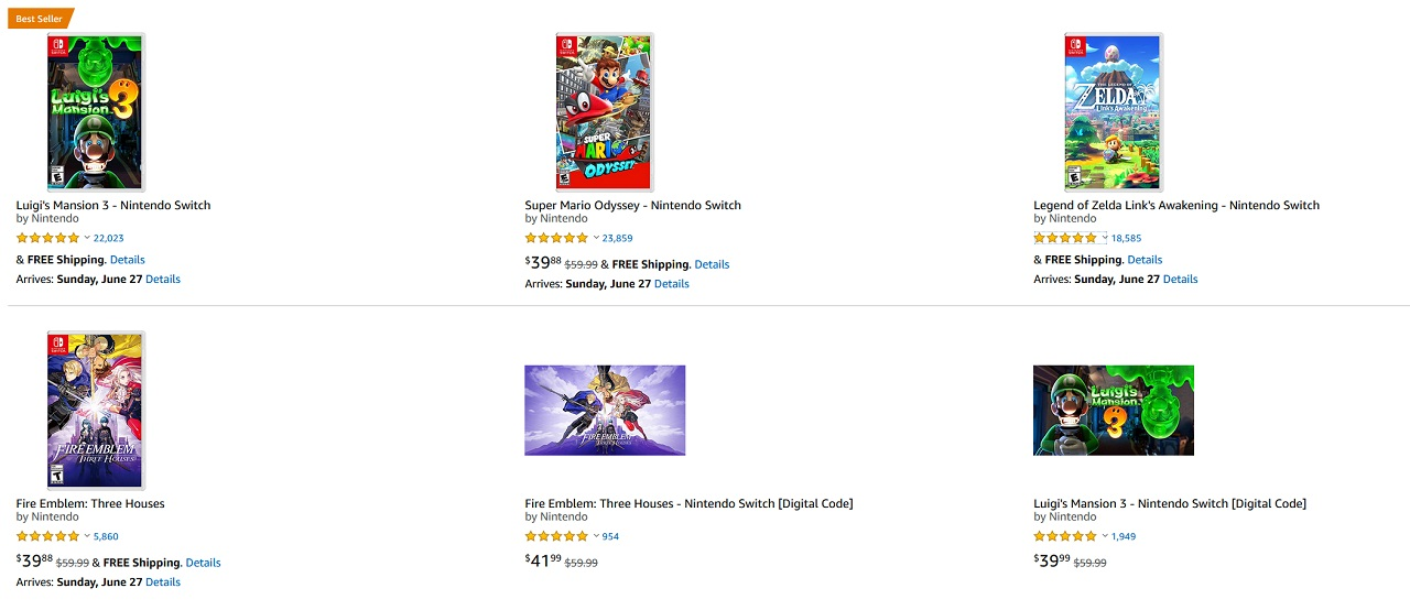 Amazon Prime Day 2021's Nintendo Switch deal features a number of absolutely great Switch games that are rare to see on sale.