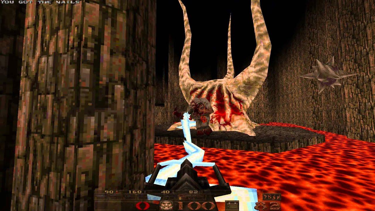 Quake's final boss.