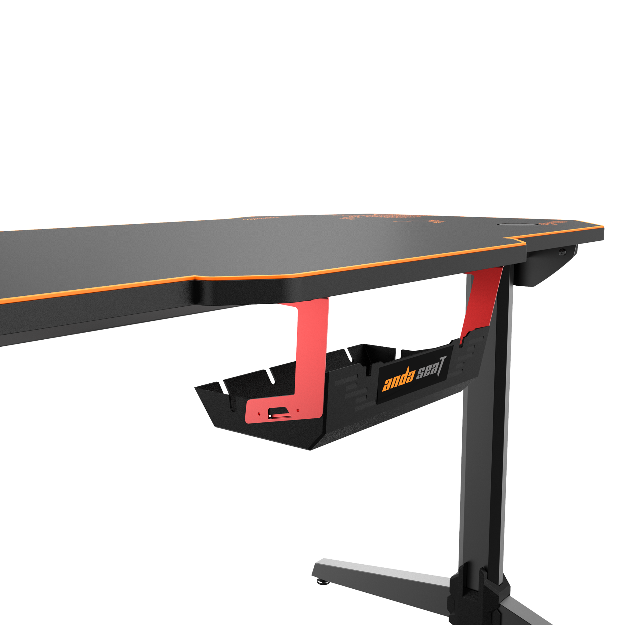 The AndaSeat Eagle 2 Gaming Desk is pretty tough to put together by yourself.