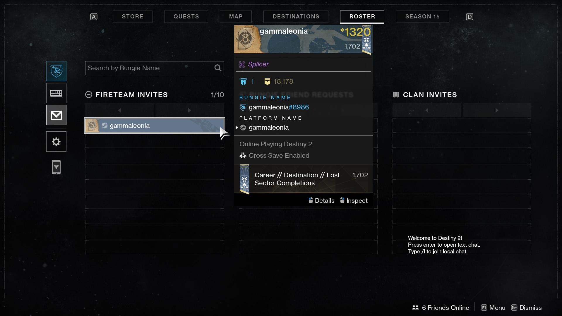 destiny 2 crossplay find invites