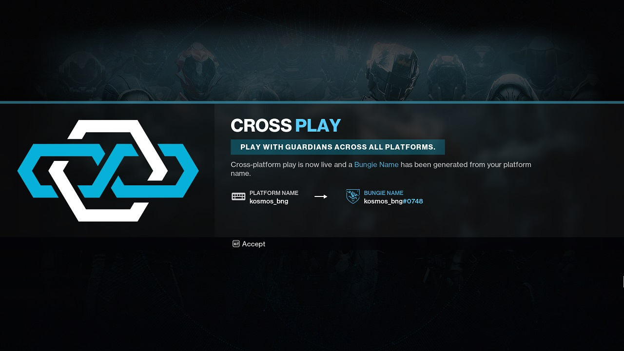 When Destiny 2 crossplay launches in Season 15, PC, Xbox, PlayStation, and Stadia players will be able to play together in most modes of the game.