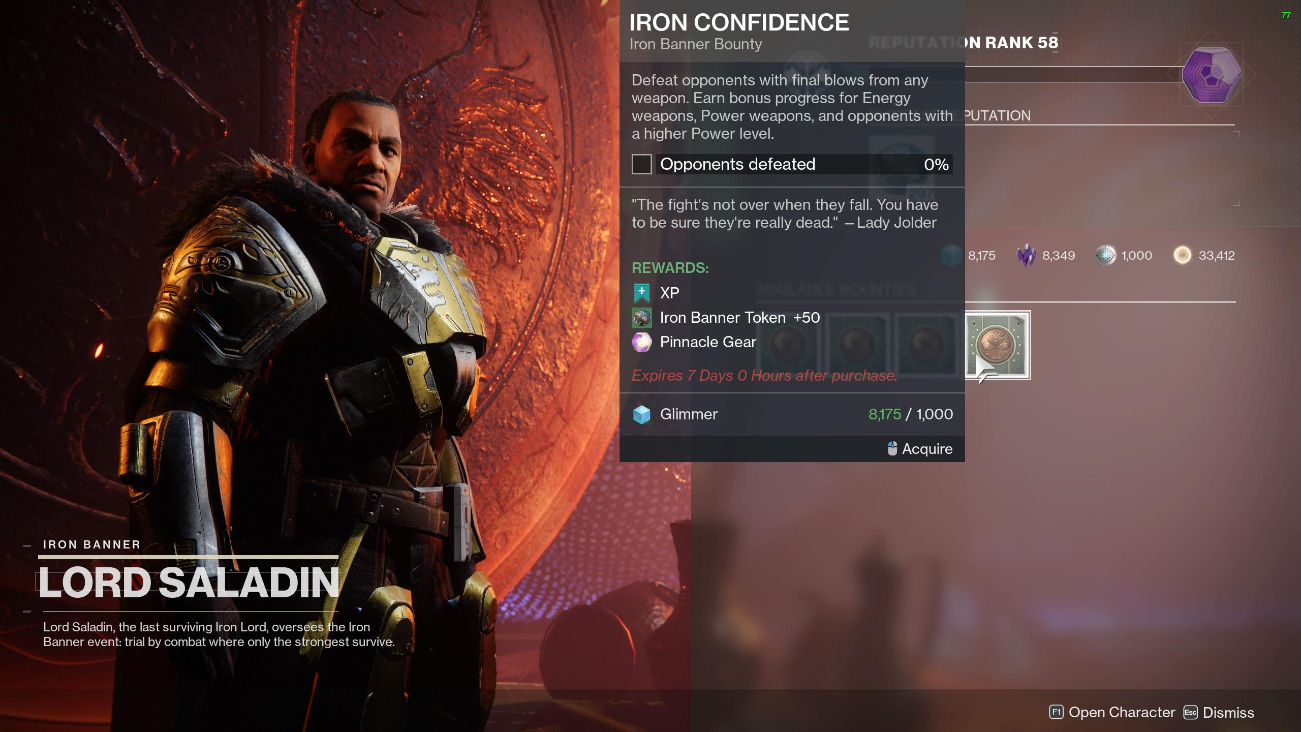 destiny 2 iron banner season 14 bounties iron confidence