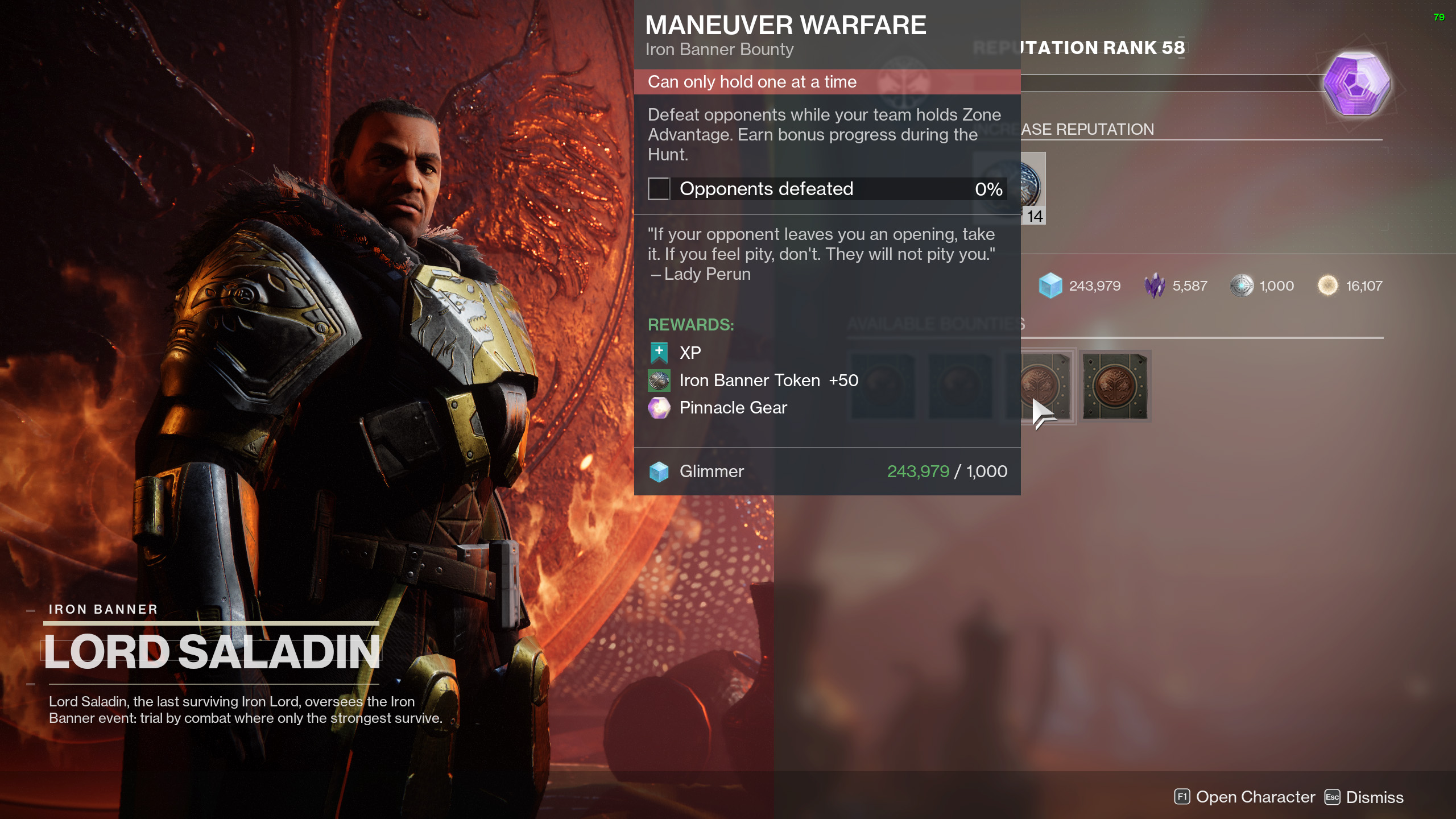 destiny 2 iron banner season 14 bounties maneuver warfare
