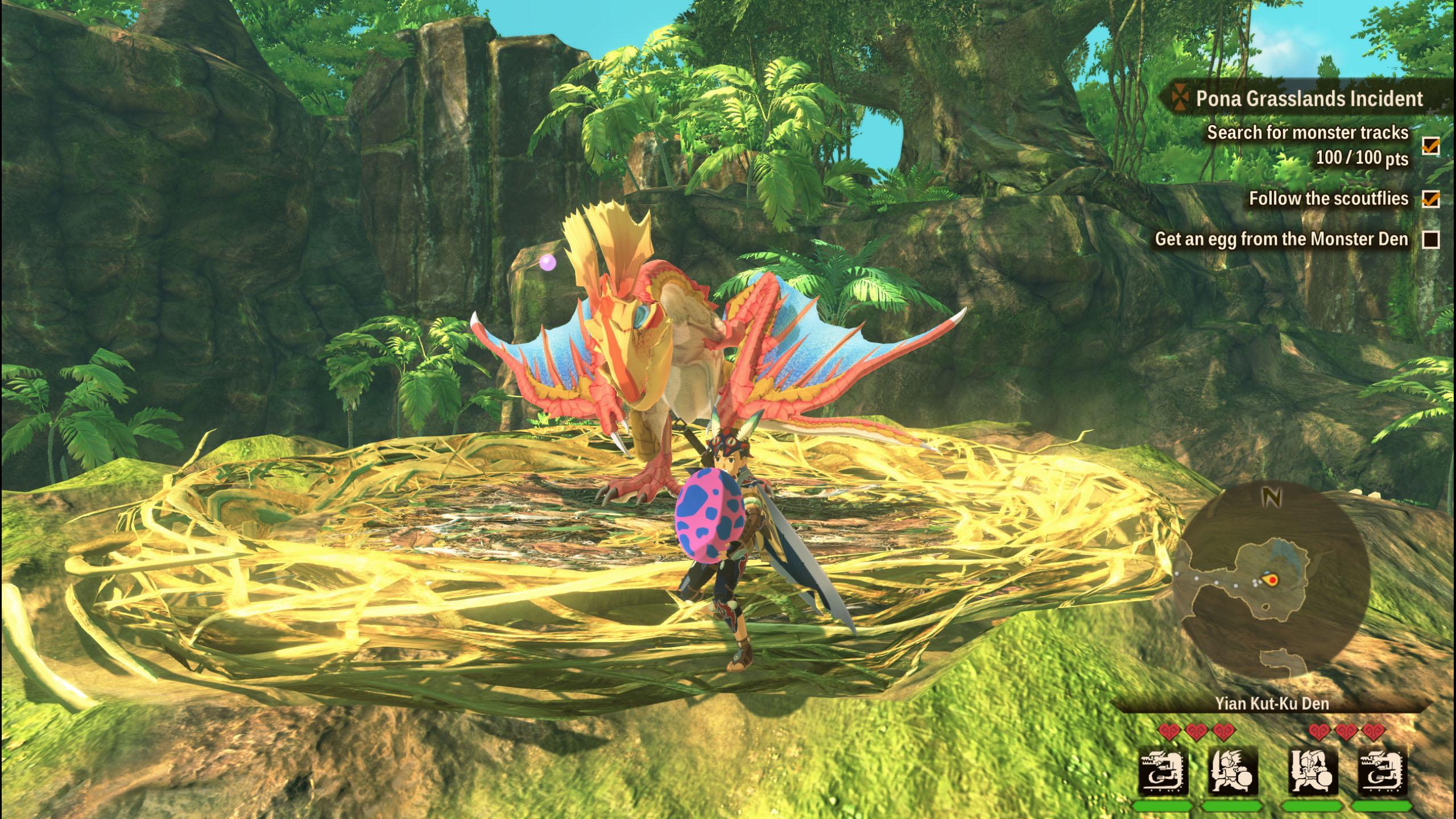 monster hunter stories 2 wings of ruin rare monstie eggs