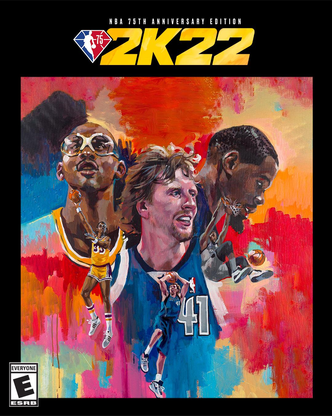 Luka Donic Kareem Abdul Jabbar Dirk Nowitzki And Kevin Durant Are Nba 2k22 Cover Athletes Shacknews