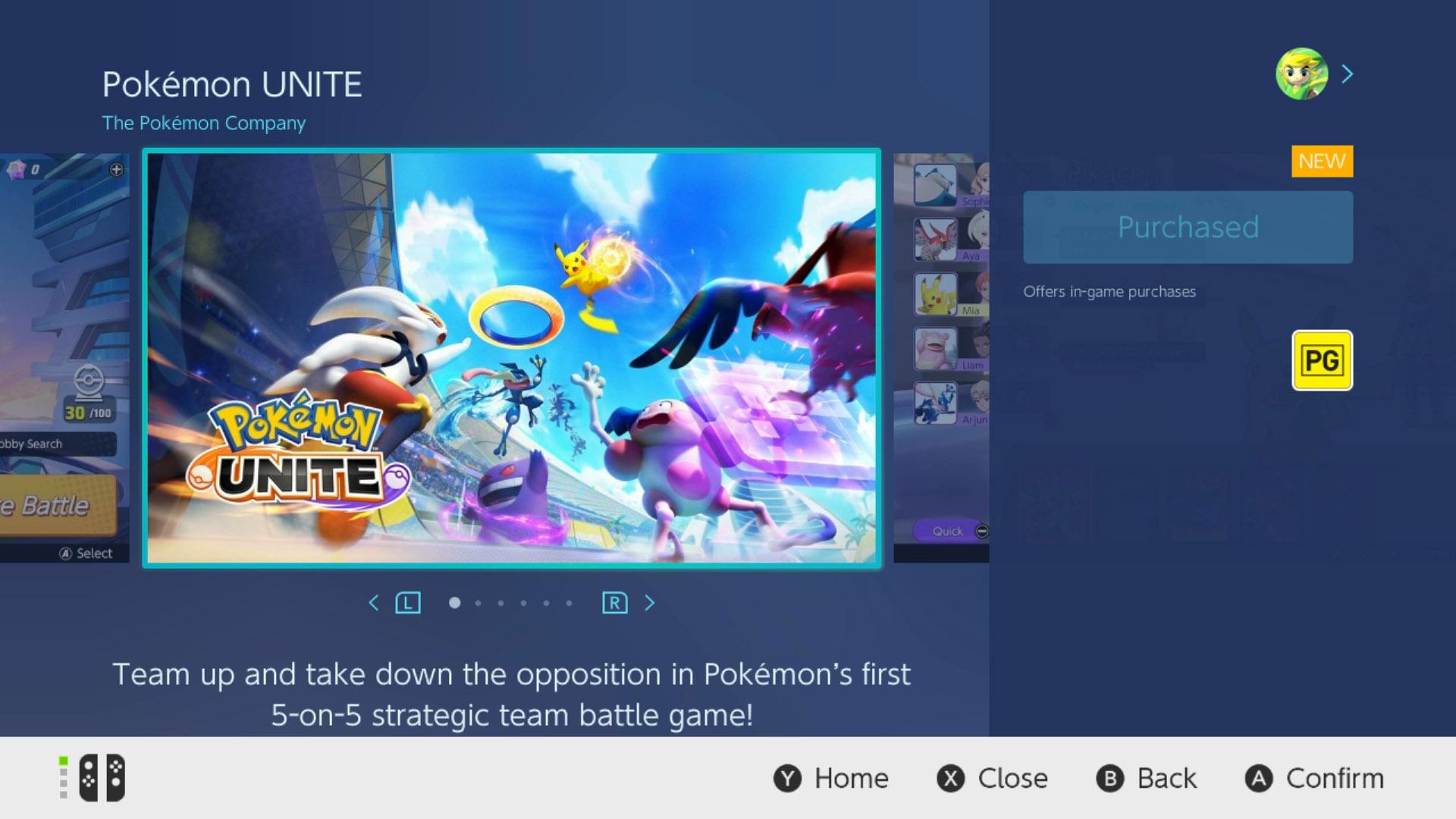 pokemon unite download