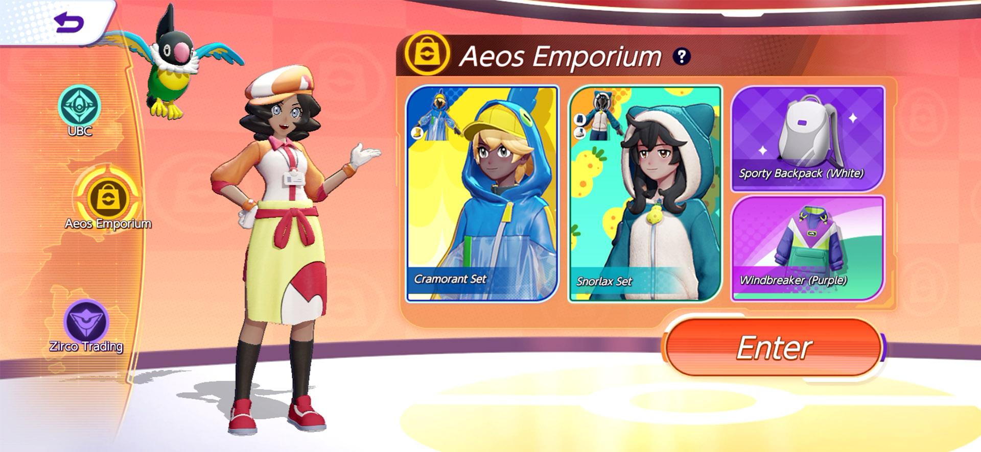 pokemon unite nintendo switch online
