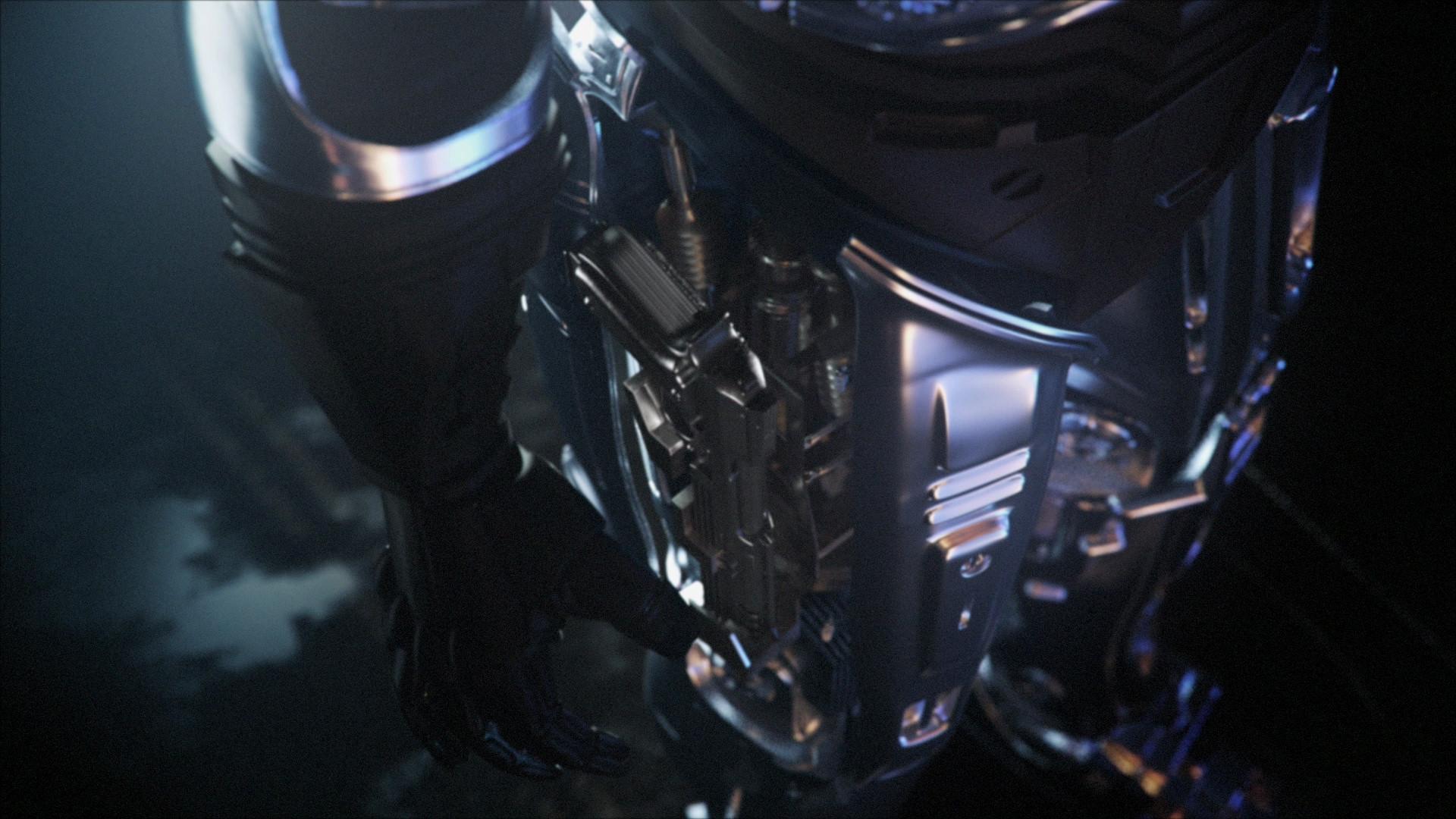 robocop rogue city cyborg design