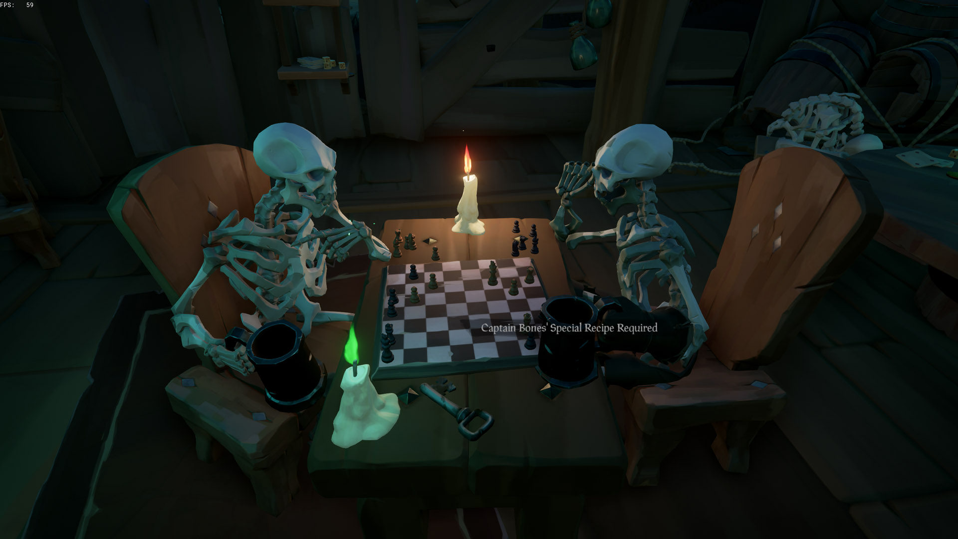 sea of thieves a pirates life captain bones special recipe required