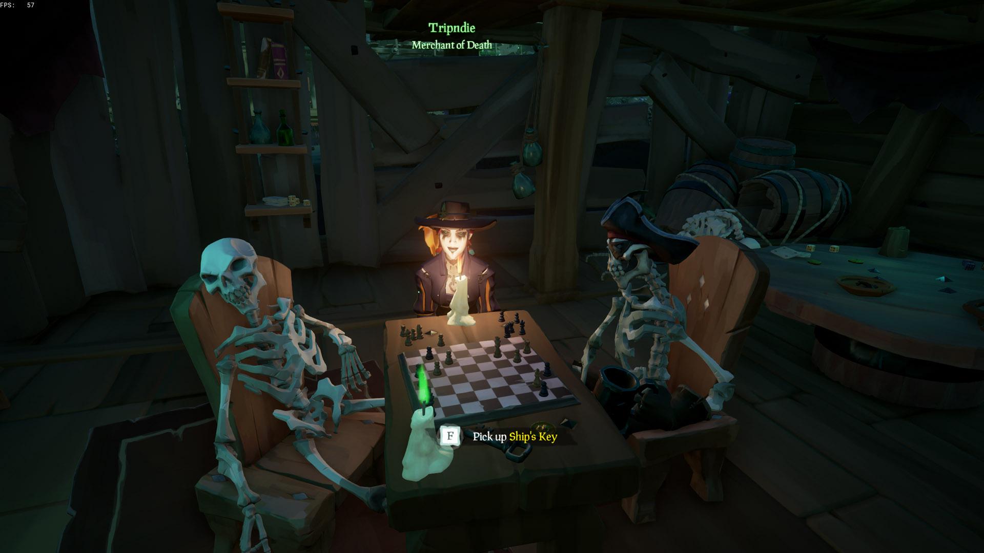 sea of thieves a pirates life ships key