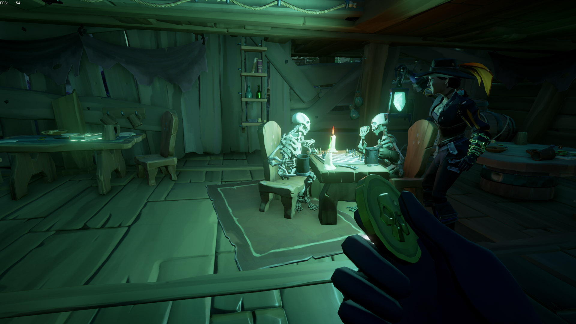 sea of thieves a pirates life a Powerful thirst skeletons playing chess