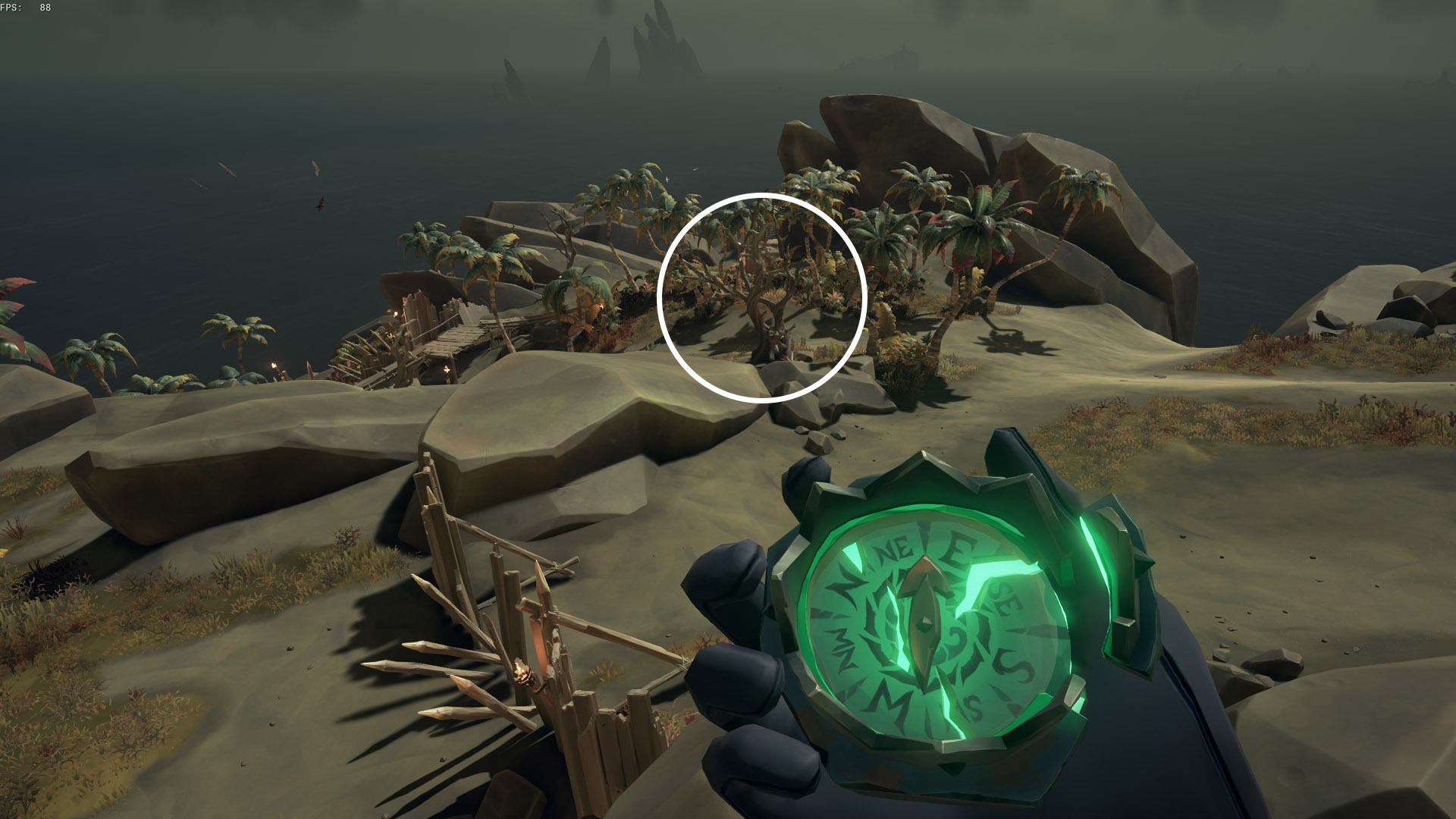sea of thieves old faithful riddle entwined trees