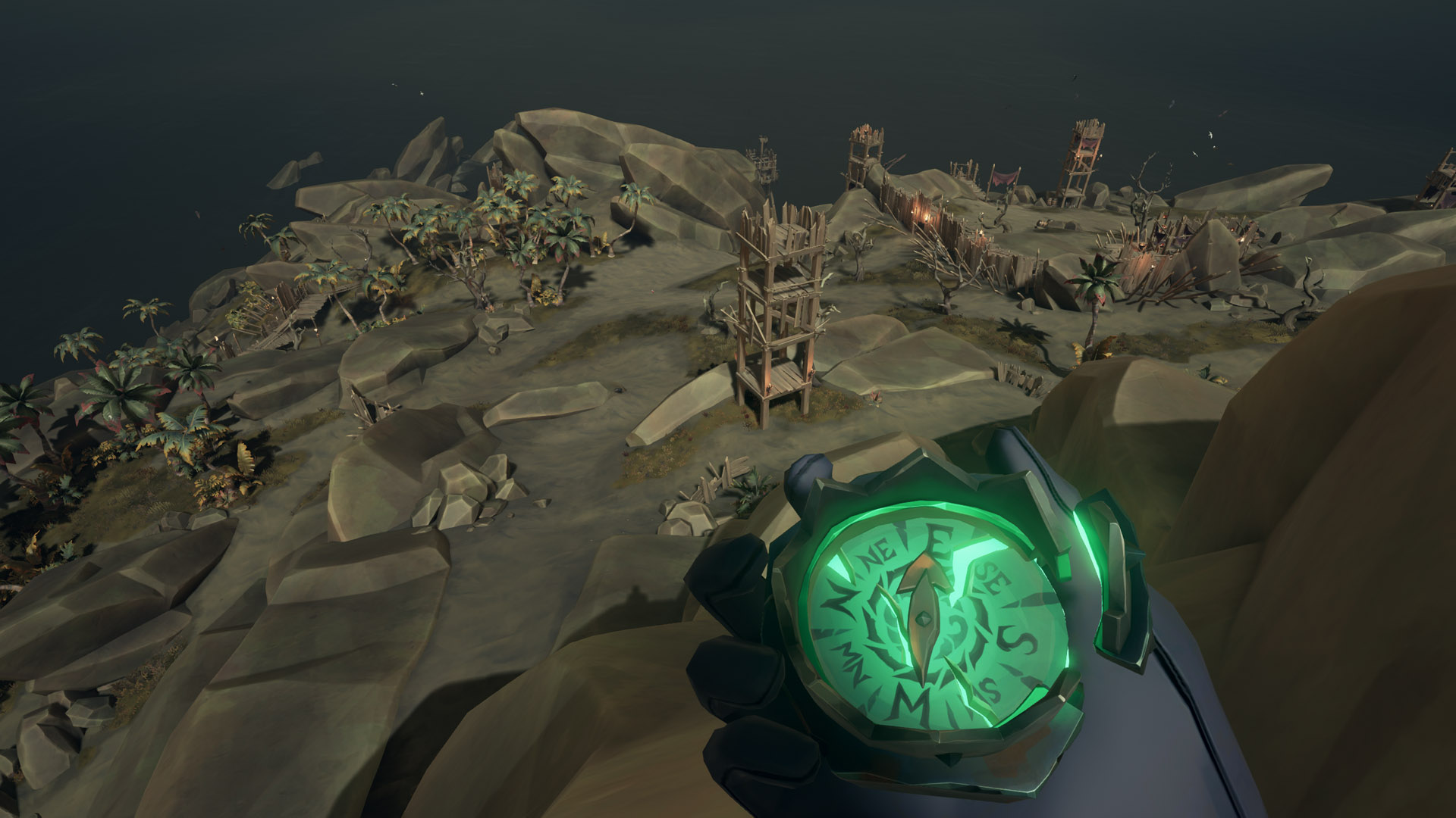 sea of thieves old faithful riddle highest watchtower
