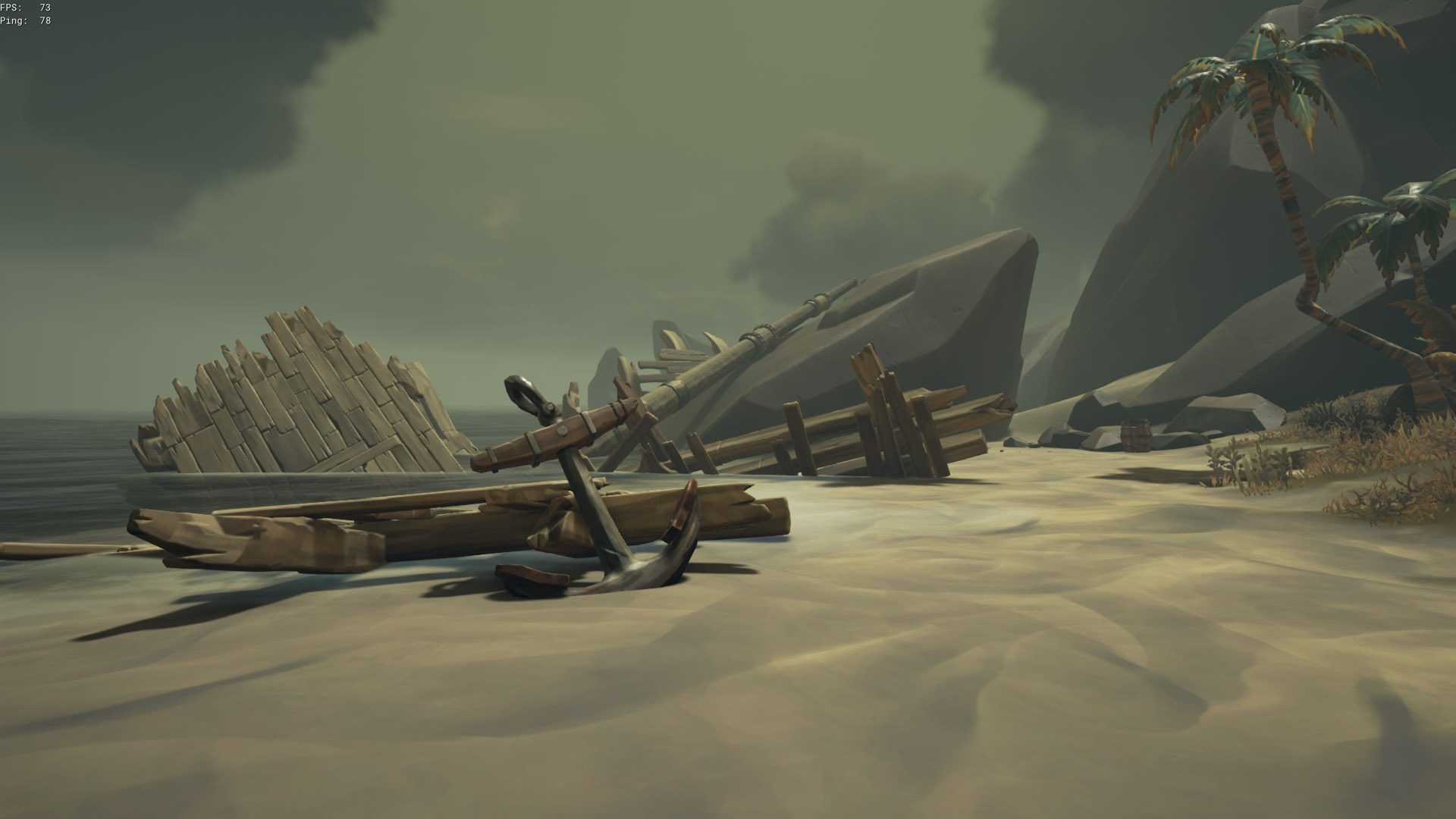 sea of thieves old faithful riddle shipwreck anchor