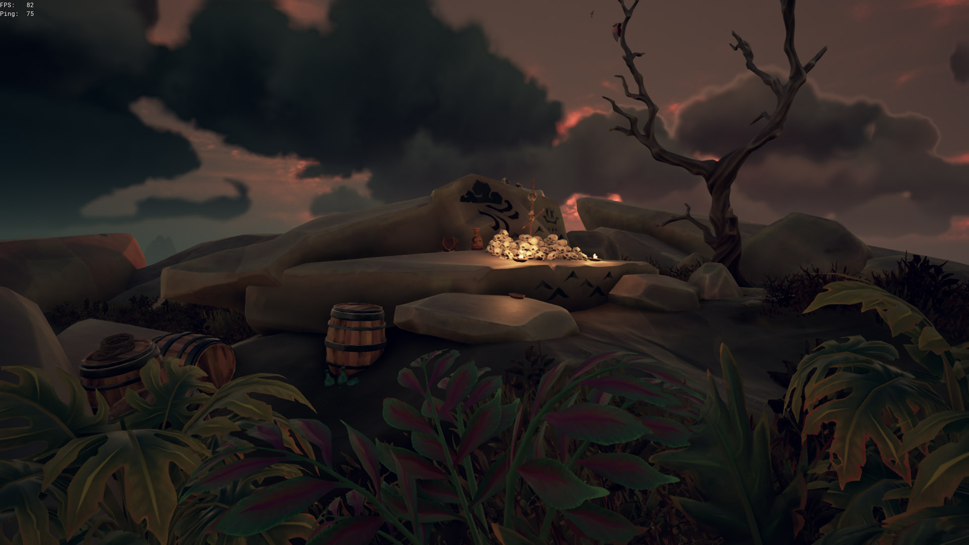 sea of thieves old faithful riddle skull pile