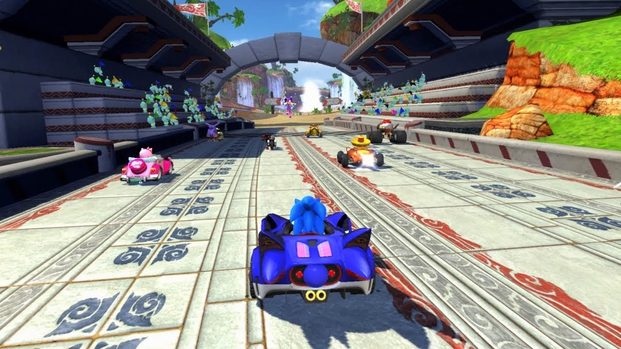 Sumo Group's overall efforts have included prominent work with Sega on racing titles like the Sonic & Sega All-Stars Racing series.