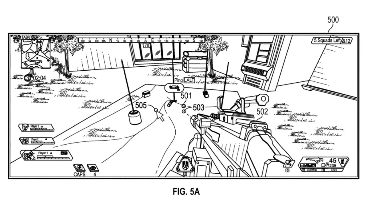 The versatile Apex Legends ping system is among patents made open by EA to increase gaming industry accessibilty.