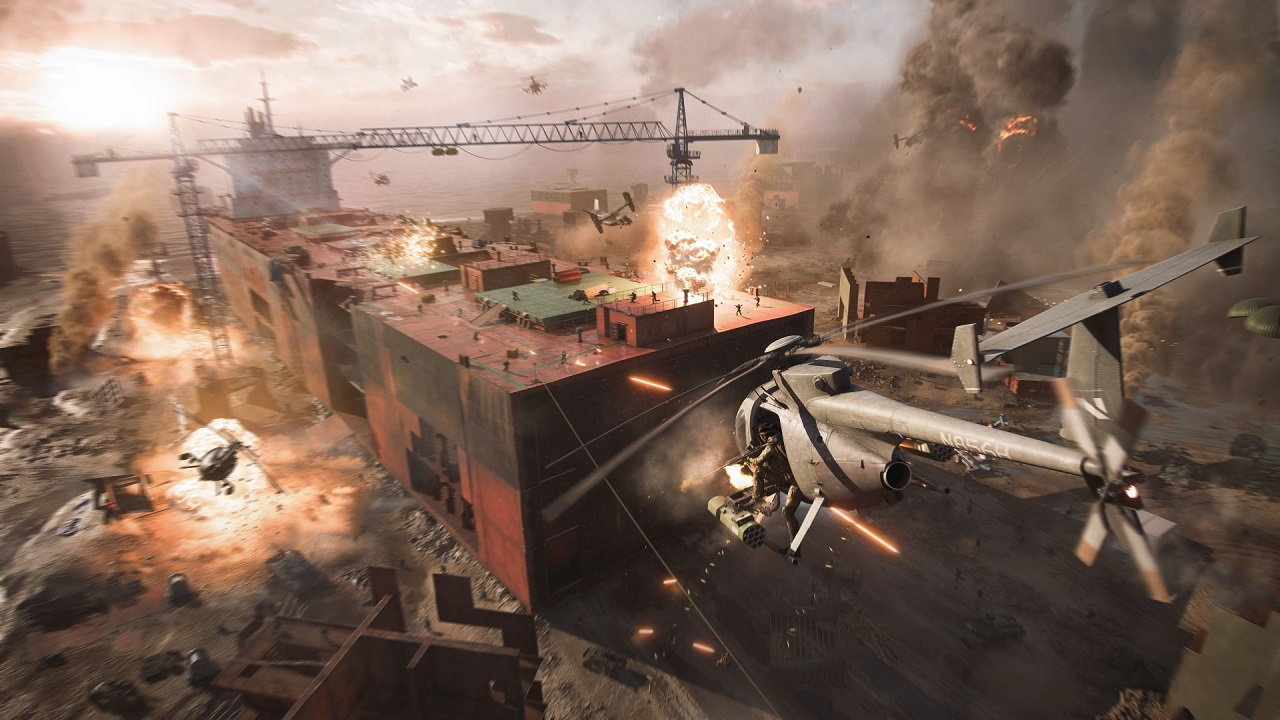 Battlefield 2042's technical playtest was supposed to come earlier, but took a slight delay for EA and DICE to properly set up PC/Console crossplay.