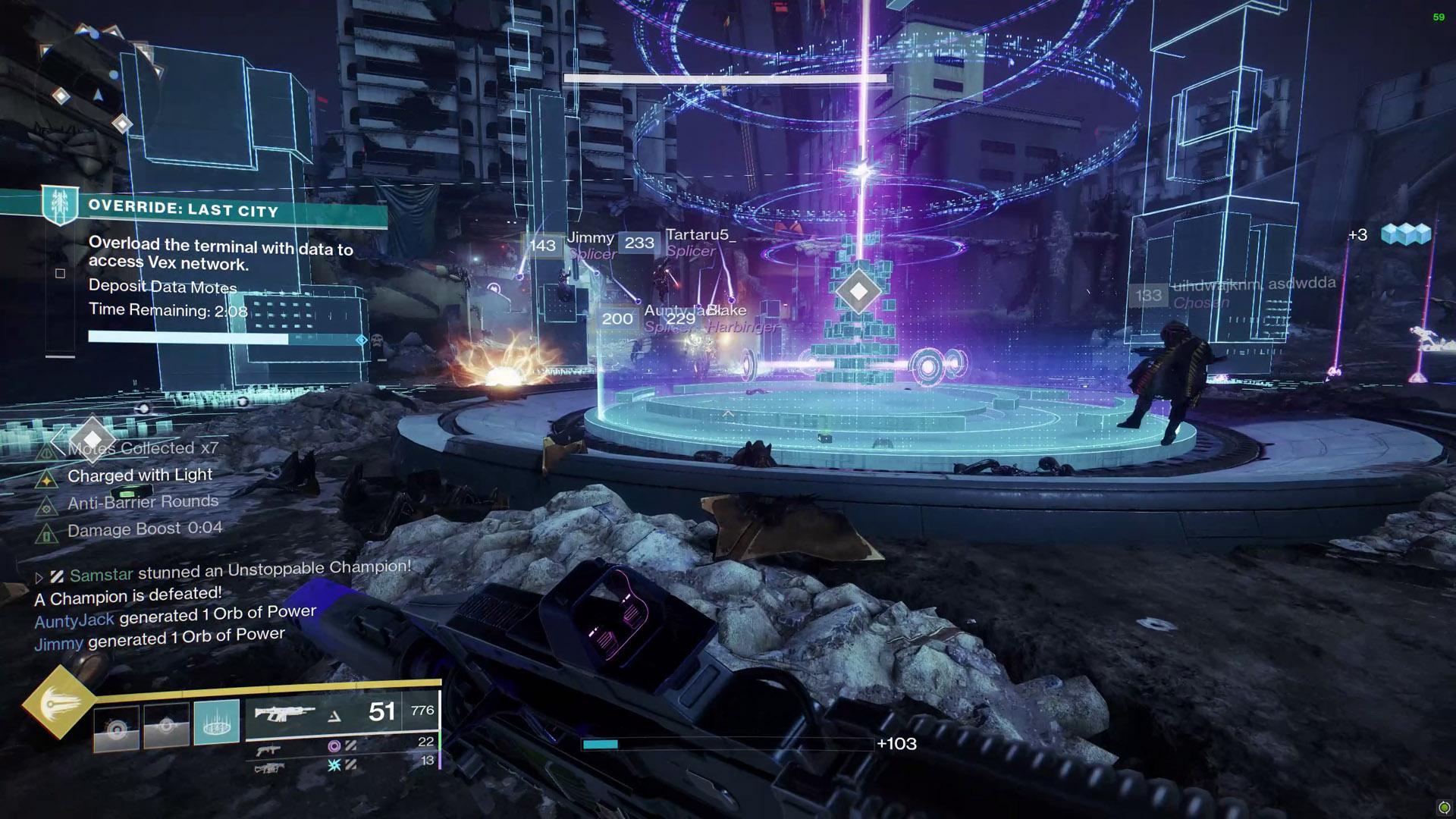 destiny 2 override last city