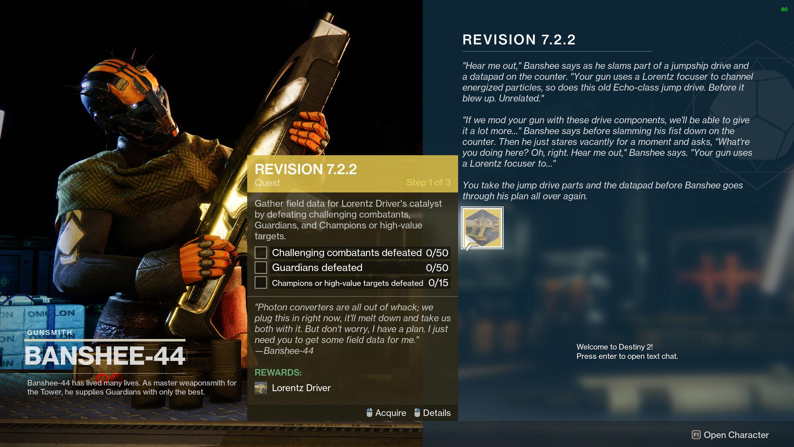 destiny 2 revision 7.2.2 quest