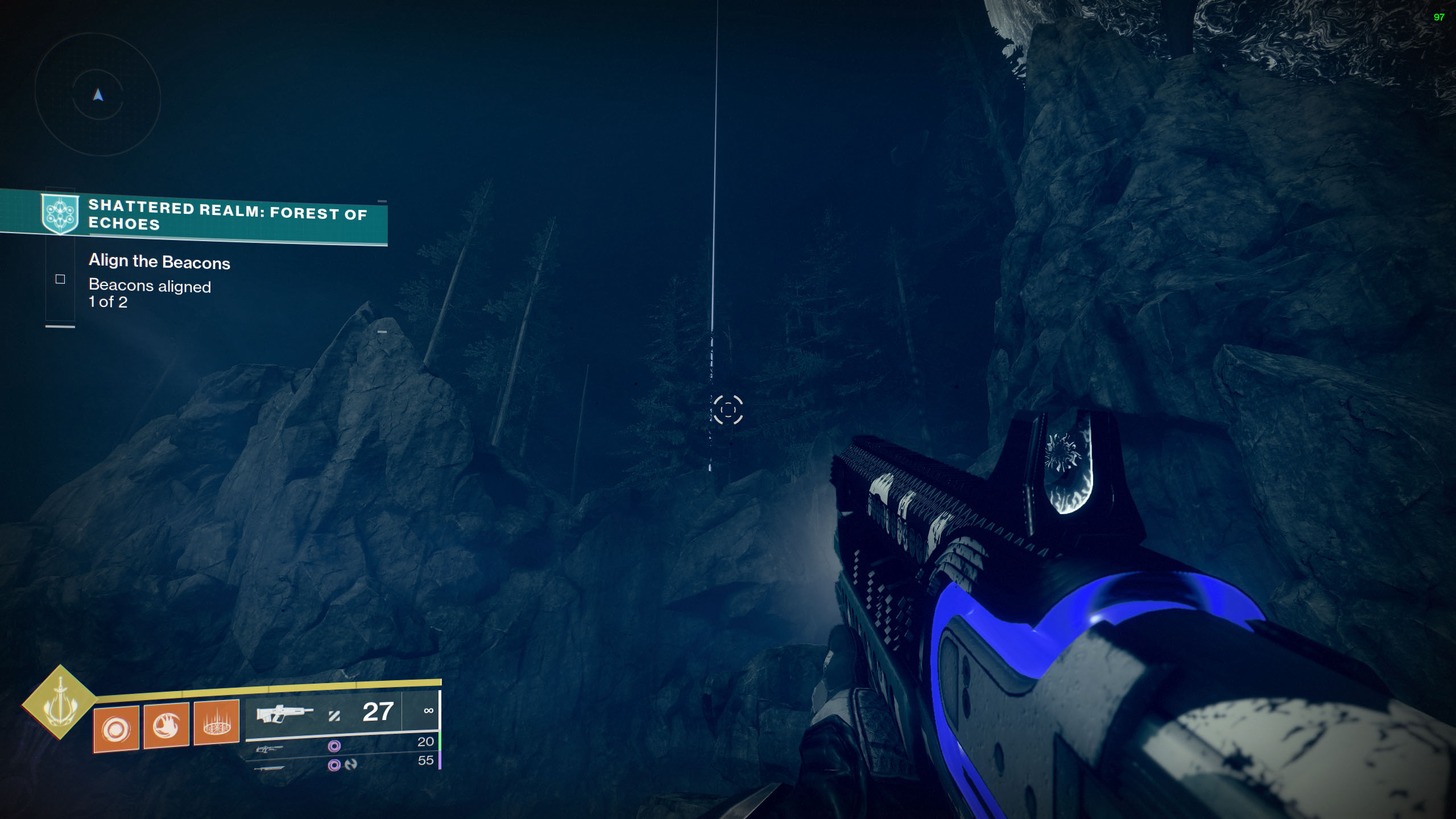 destiny 2 season of the lost campaign shattered realm beacons