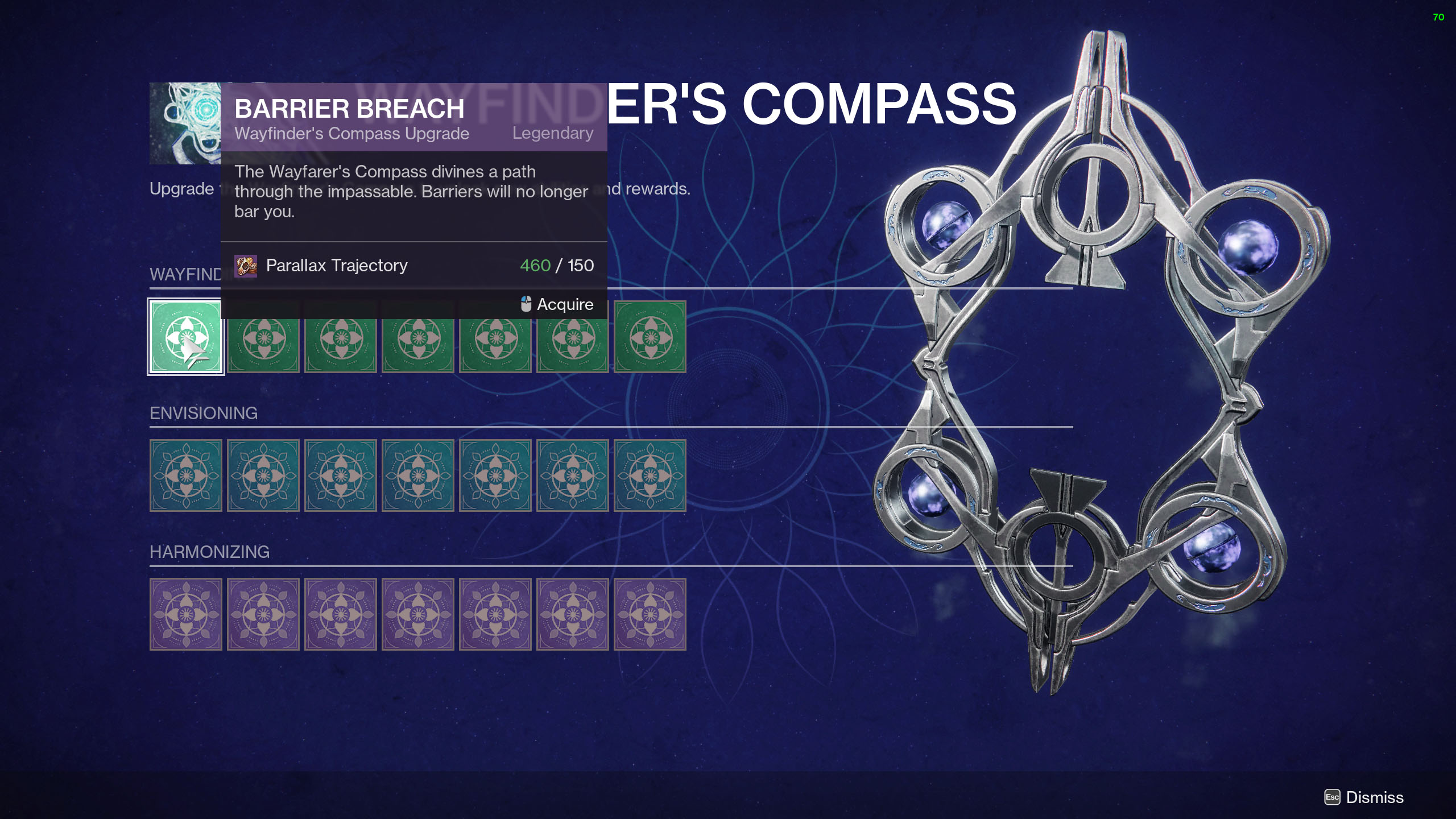 destiny 2 season of the lost campaign wayfinders compass upgrade