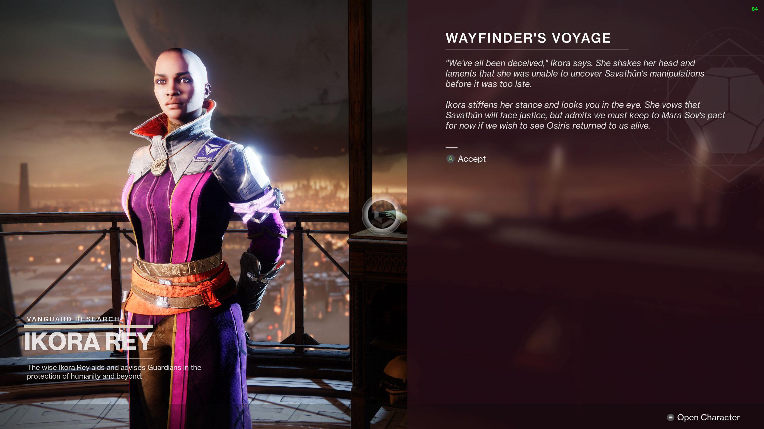 destiny 2 season of the lost campaign wayfinders voyage