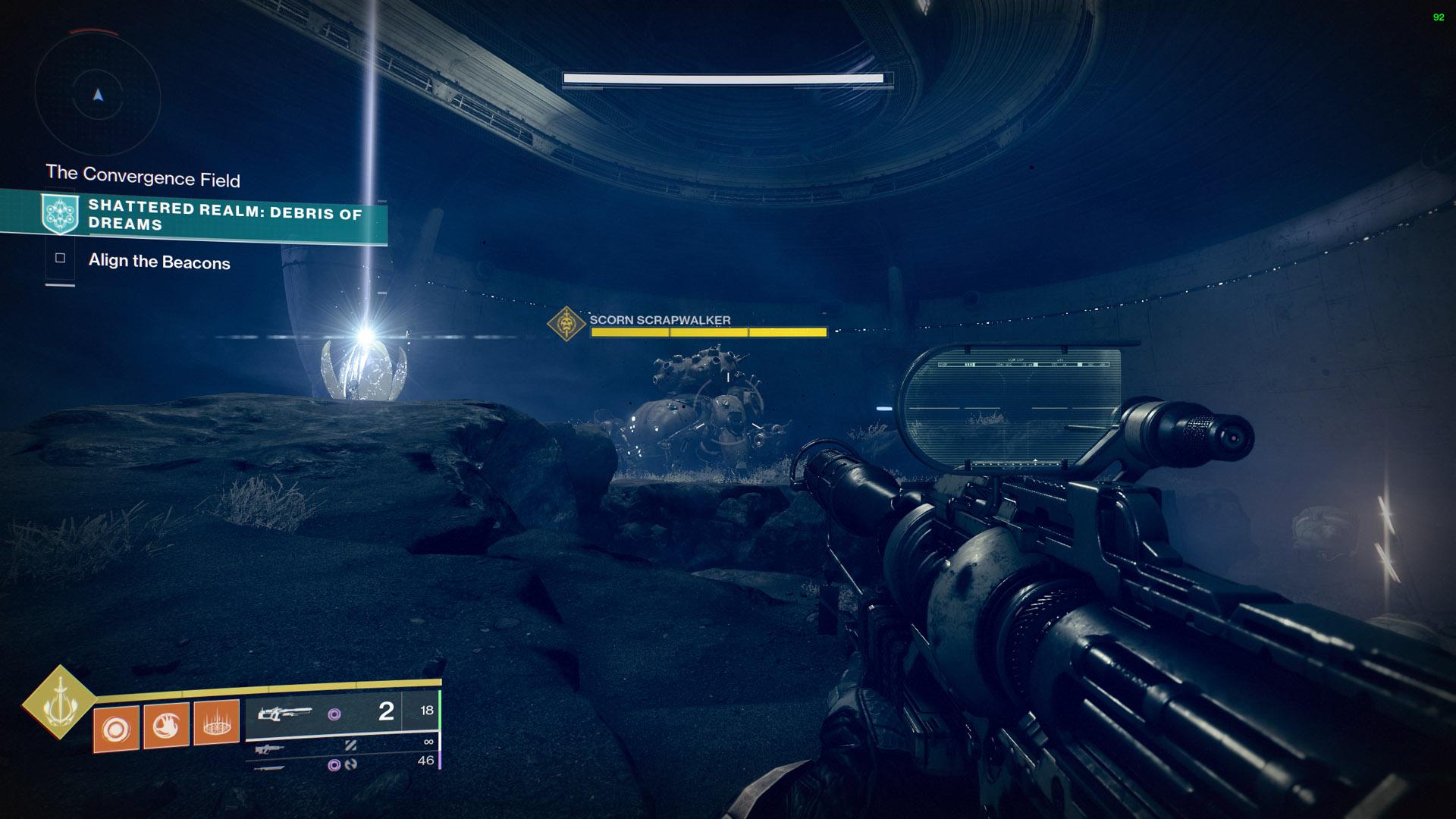 destiny 2 shattered realm scorn walker