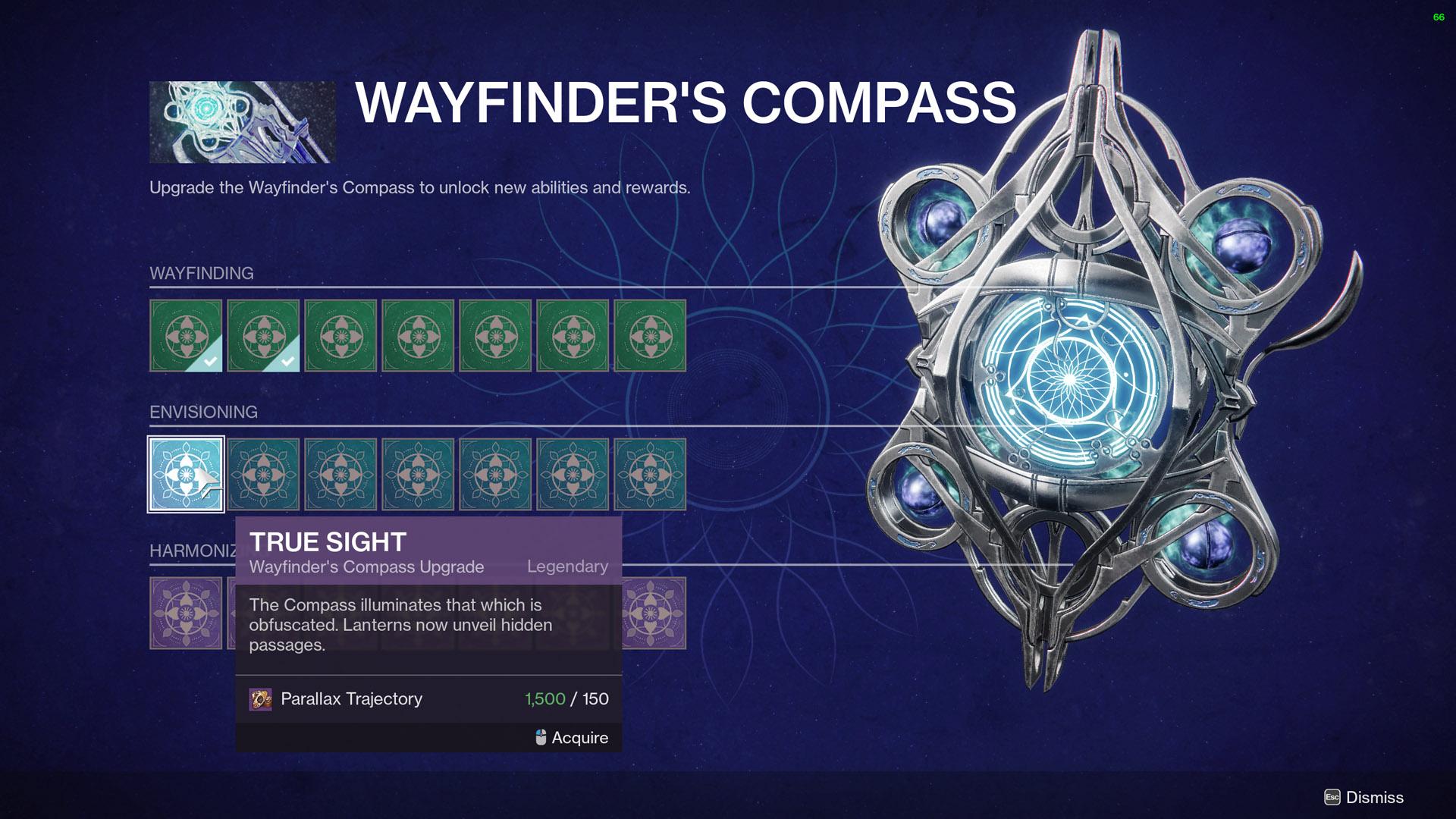 destiny 2 wayfinder's compass the sight